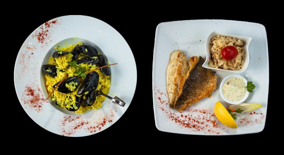 Μυδοπίλαφο και Φιλέτο Ψαριού στο πιάτο σας